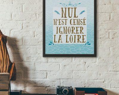 NulNeCenseIgnorerLaLoire poster et affiche
