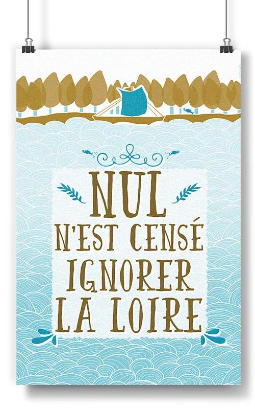 NulNeCenseIgnorerLaLoire affiche et poster